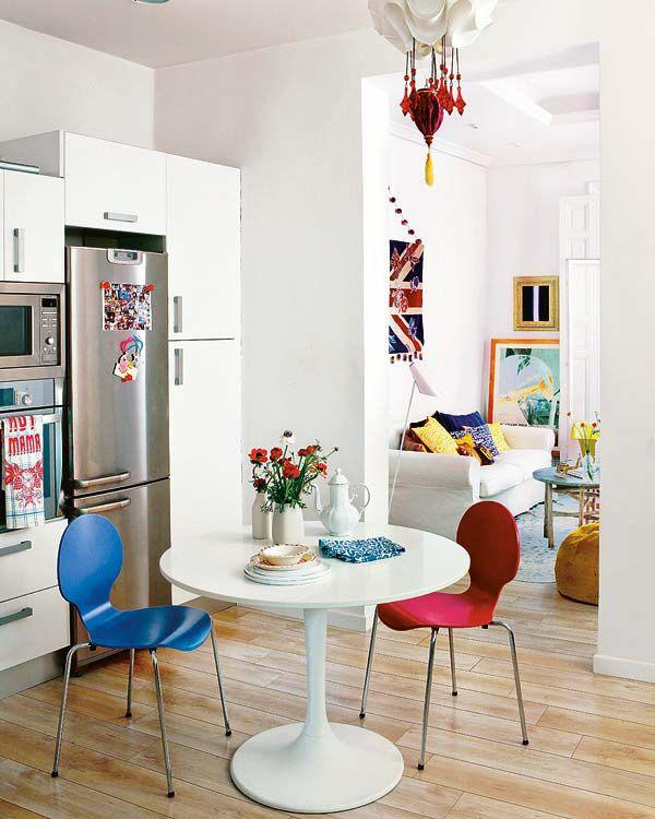 Calm Colorful Apartment In Madrid