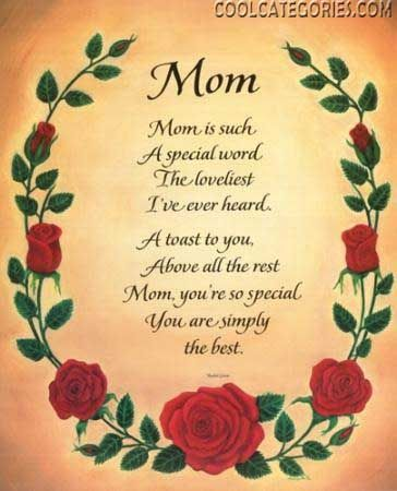 Pin By Melissa Greening On My Family And Your Family Too Happy Mothers Day Poem Mom Poems Mothers Day Poems