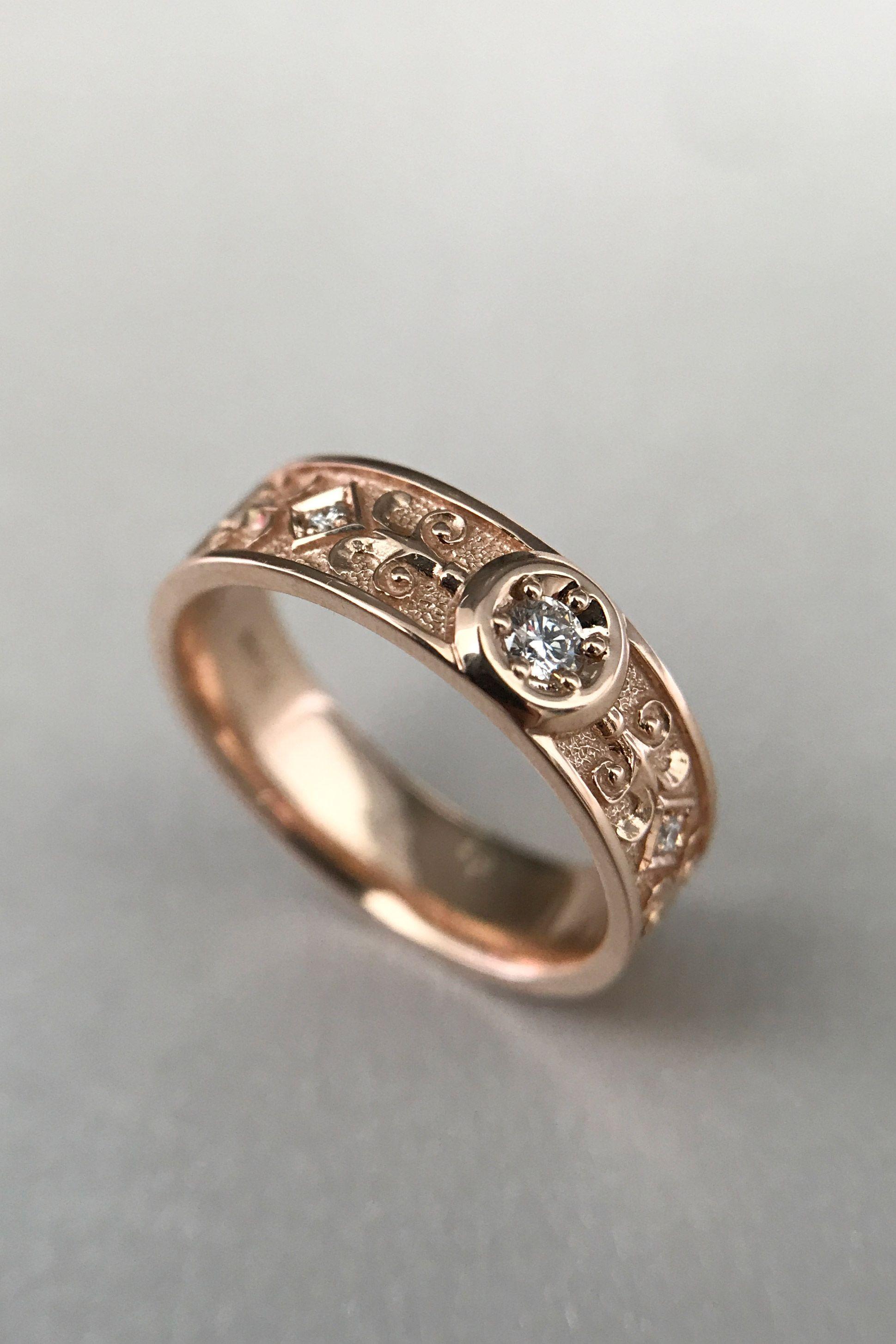 Celtic Wedding Rings Antique Wedding Band Wedding Ring Set Etsy Antique Wedding Rings Antique Wedding Bands Celtic Wedding Ring Sets