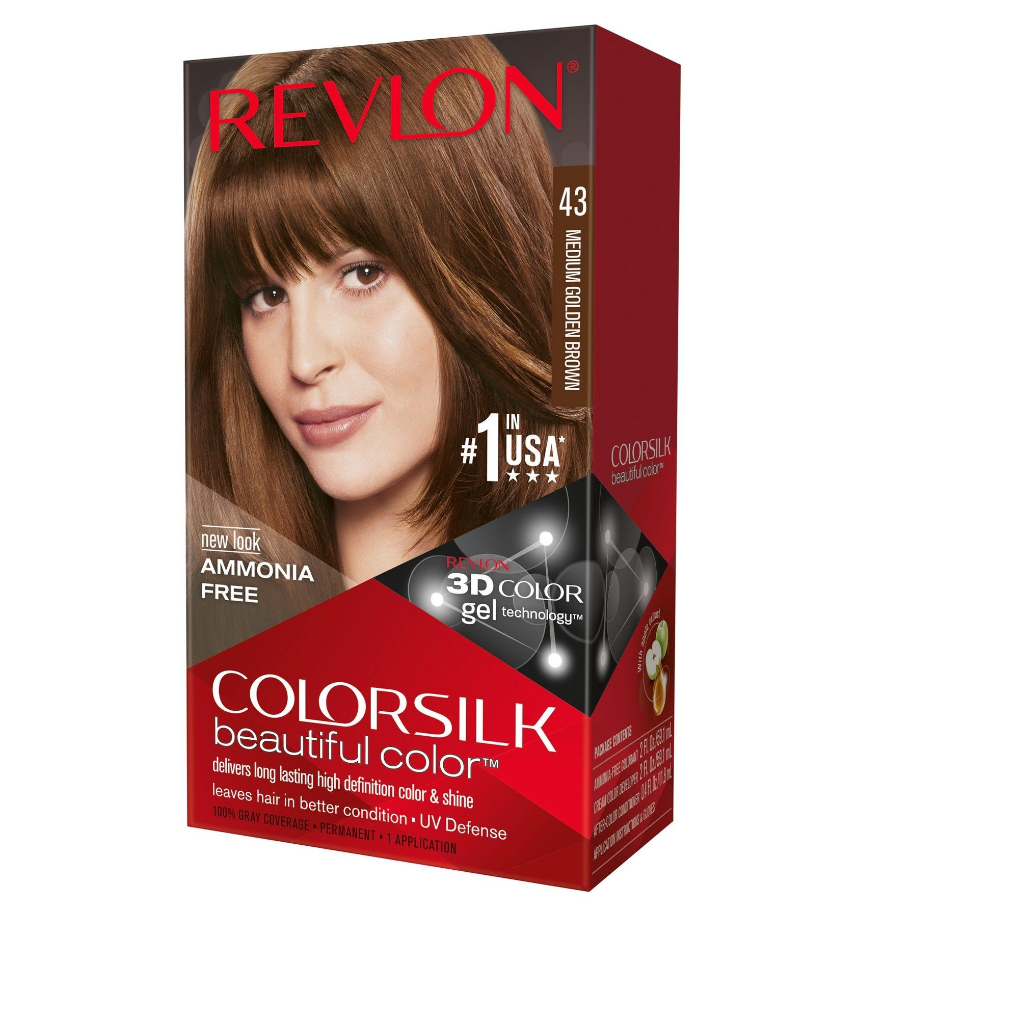 Revlon Colorsilk Beautiful Permanent Hair Color Medium Golden