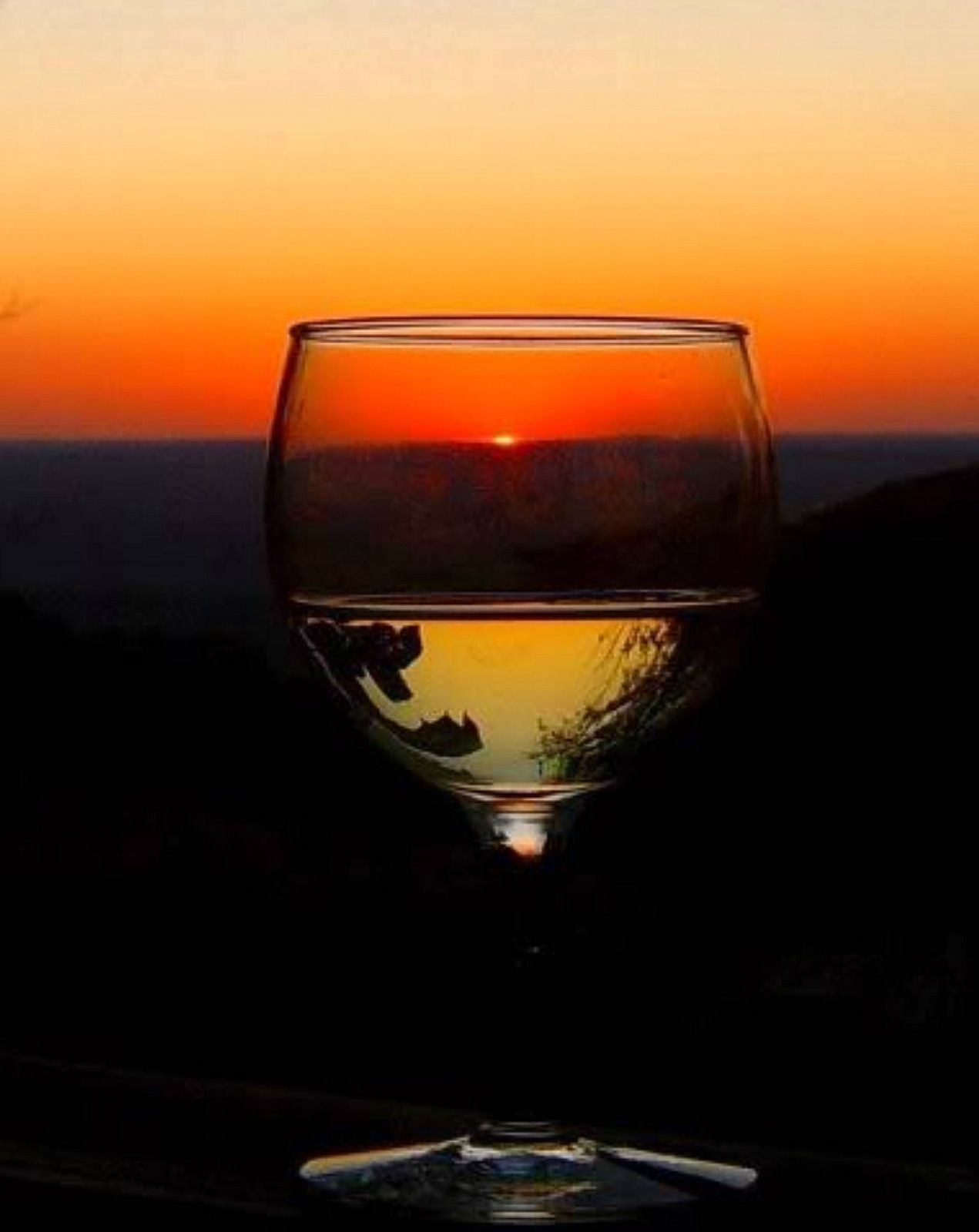 It's 5 o'clock somewhere.   Taken on the West Brow of Lookout Mountain, Al.