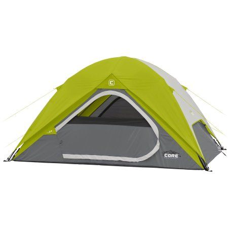 Core Equipment 4 Person Dome Tent Walmart Com Dome Tent Instant Tent Best Tents For Camping