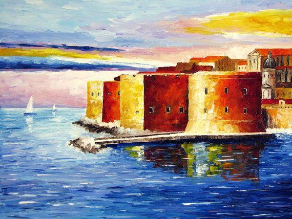 Modern Canvas Oil Paintings