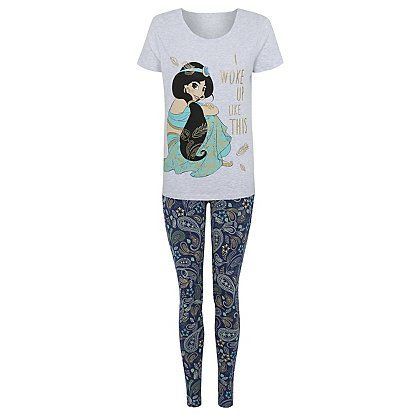 look good shoes sale variety of designs and colors newest style of Disney Princess Jasmine Pyjama Set | Women | George at ASDA ...