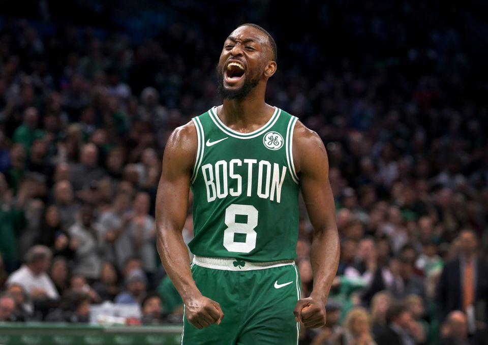 Kemba Walker Celtics Rebound To Knock Off Raptors The Boston Globe Boston Celtics Nba News Celtic