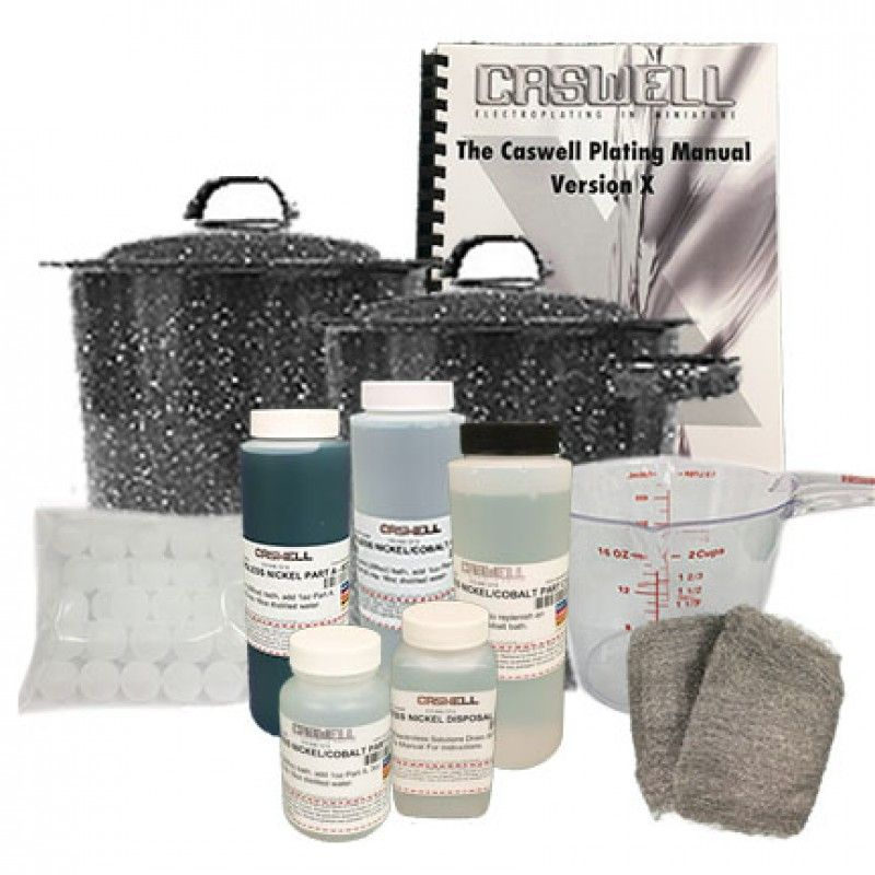 Electroless Nickel Mini Kit (5 Pint) | Surface treatments