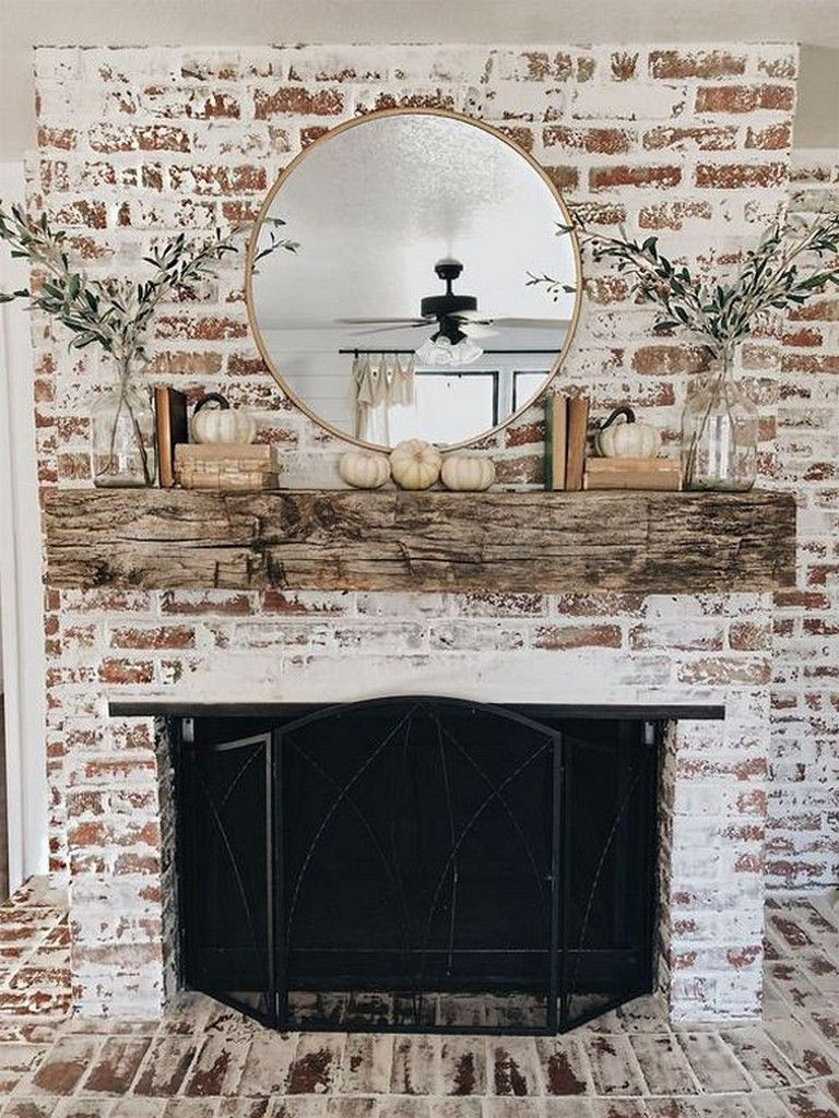 25+ Luxury Fall Mantle Decorating Ideas You Can Copy #fallmantledecor