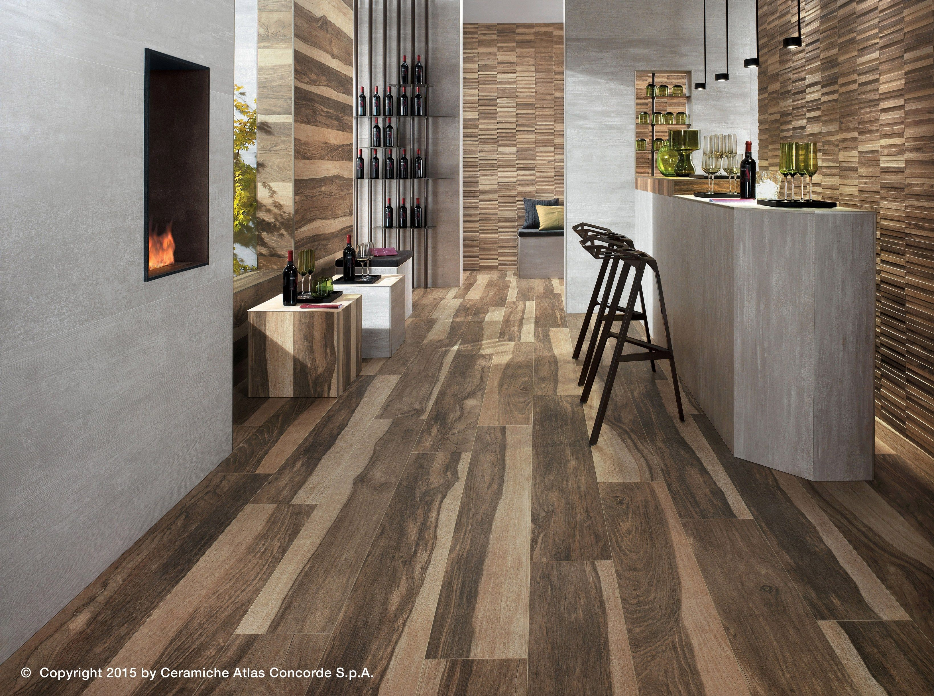 idea use gray tiles like these around fireplace wood