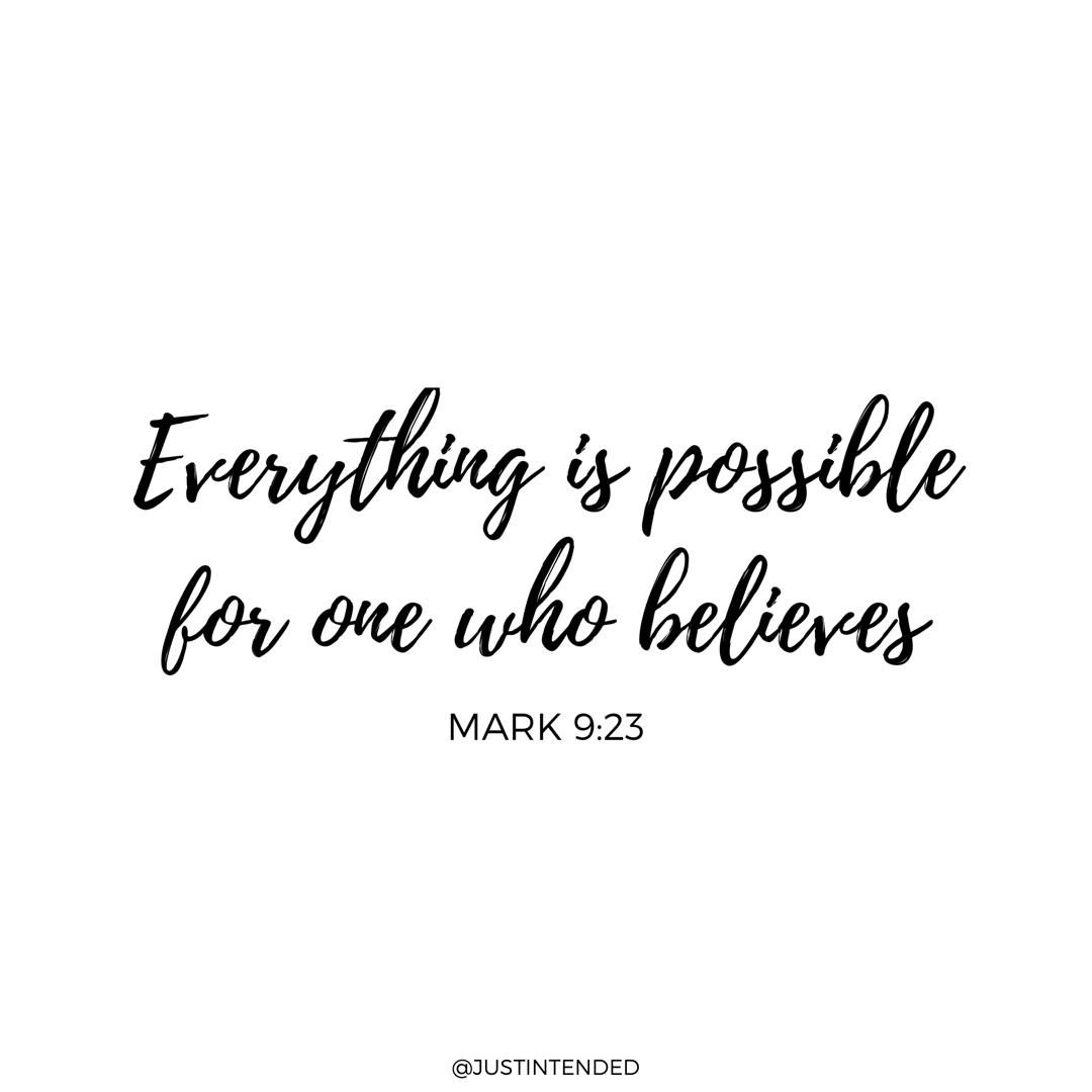 Everything Is Possible With God Believe In God Quotes Anything Is Possible Quotes Faith Quotes