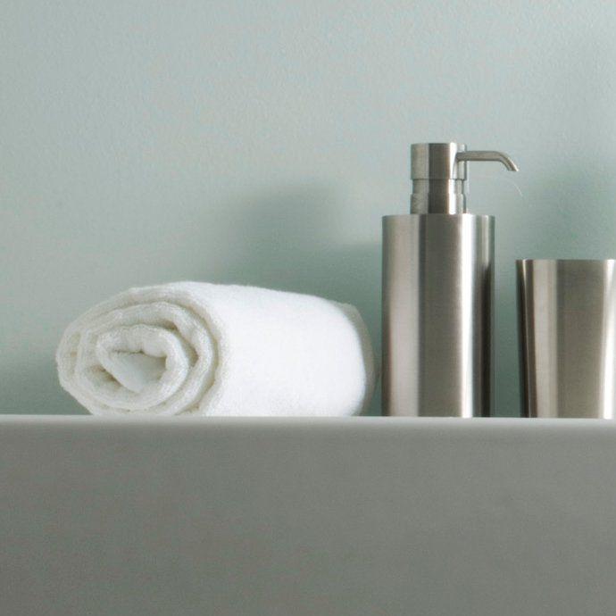 Soap dispenser | Dosasapone da appoggio in acciaio inossidabile satinato