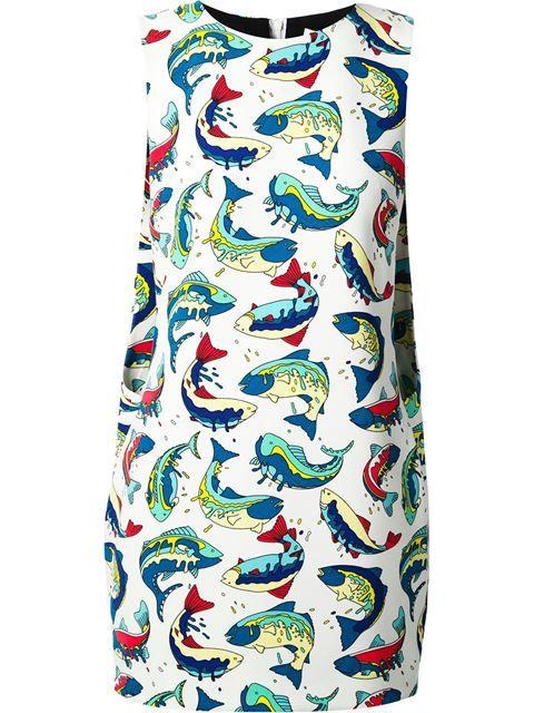 Kenzo fish dress images