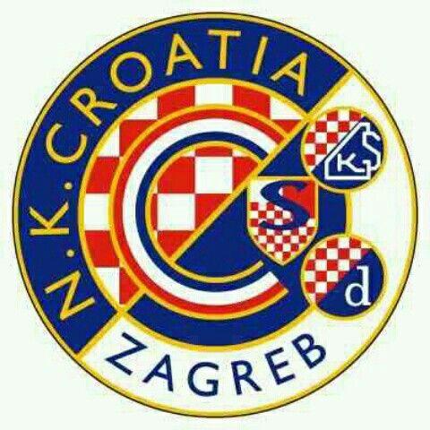 NK Croatia Zagreb crest. | European football, Football team logos, Football  logo