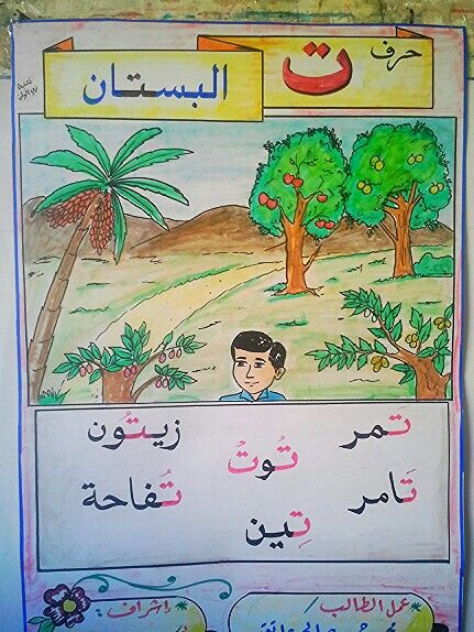 حرف التاء ت Learn Arabic Alphabet Kids Education Arabic Worksheets