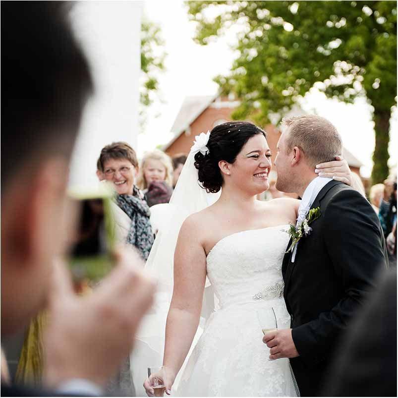 Bryllup Klassiske Portraet Billeder Bryllupsfoto Kjole Bryllup Og Drommebryllup