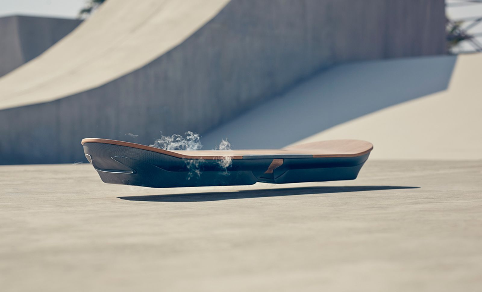 Lexus Unveils a Working Hoverboard - Cool Hunting. Similar to the technology seen in many of Japan's blistering bullet trains, Lexus employs magnetic levitation combined with superconductors to create a frictionless buffer zone between the ground and board, allowing it to effortlessly float on air. Due to the system's extremely high temperatures, liquid nitrogen is used to continuously keep it cool