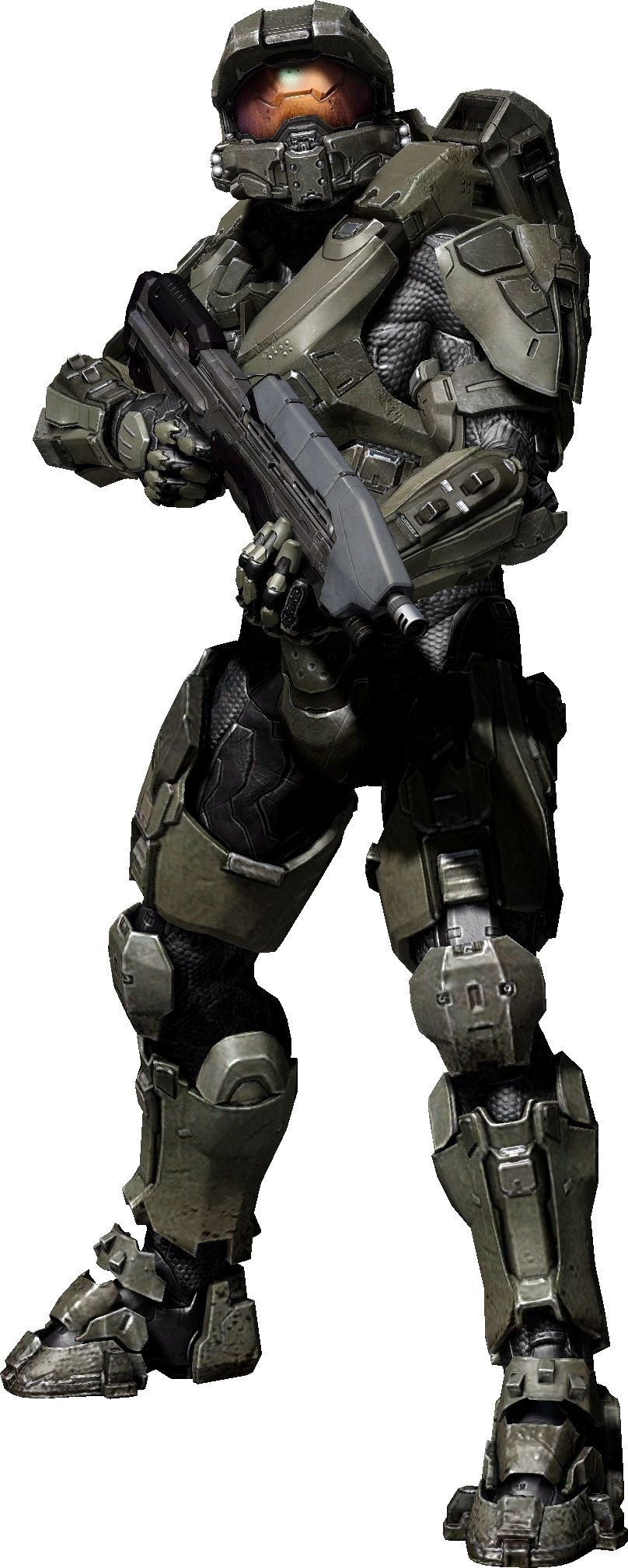 Master Chief's suit in Halo 4. I think I like this one the
