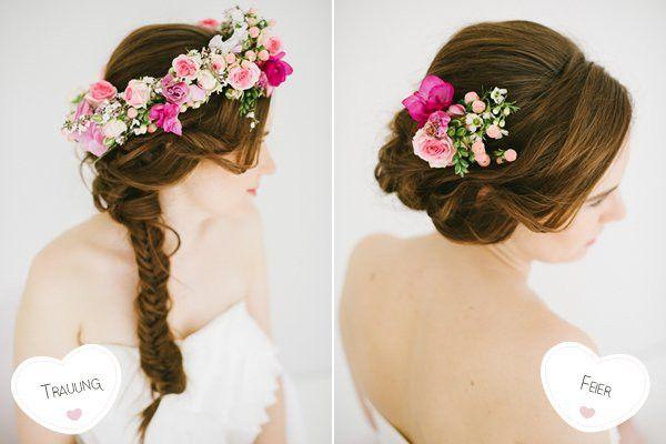 Brautfrisur Blumen Unique Kommunion Frisuren Mit Echten