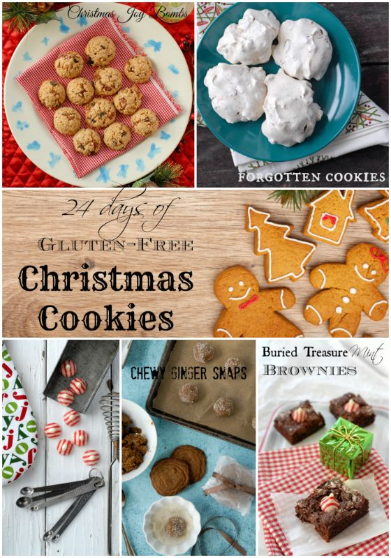 24 Days of Gluten-Free Christmas Cookie Recipes | Gluten free ...