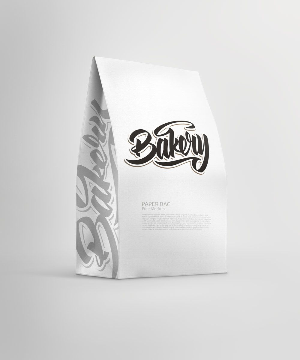 Download Free Psd Template Paper Bag Mockup Embalagens