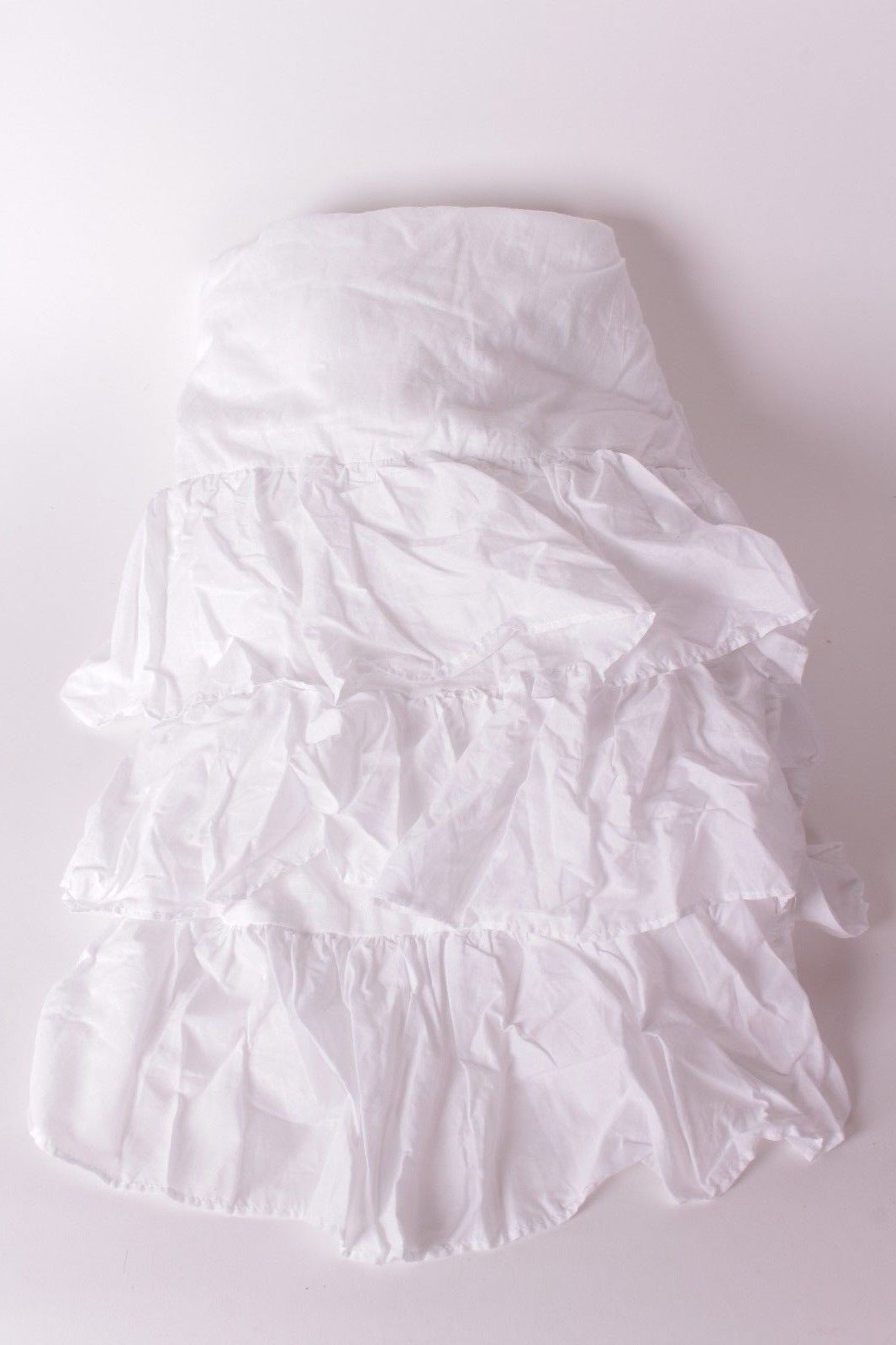 Bed Skirts 66726 New Pottery Barn Kids White Ruffle Twin