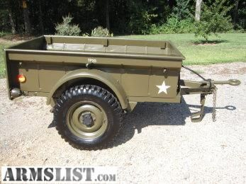 Armslist For Sale Trade Military 1 4 Ton Trailer 1946 Bantam T3c M100 Clone Sold For 1500 Jeep Trailer Willys Jeep Military Jeep