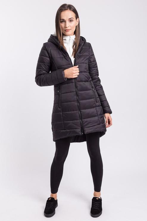 Kurtka Puchowa 4f Plaszcz Damski Dlugi Kud008 M 7767801210 Oficjalne Archiwum Allegro Winter Jackets Outerwear Jackets