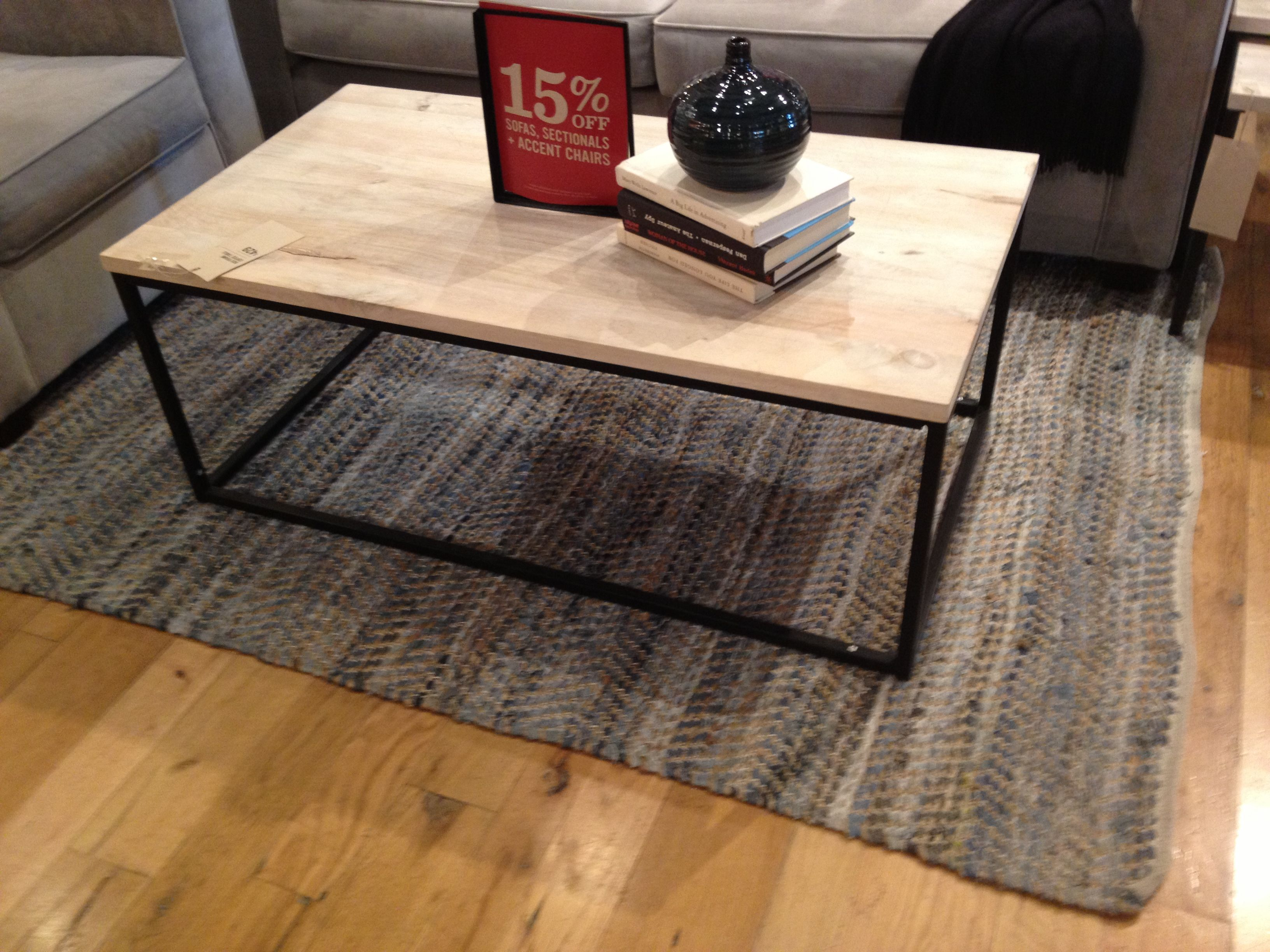For the library west elm box frame coffee table 428 44 w x