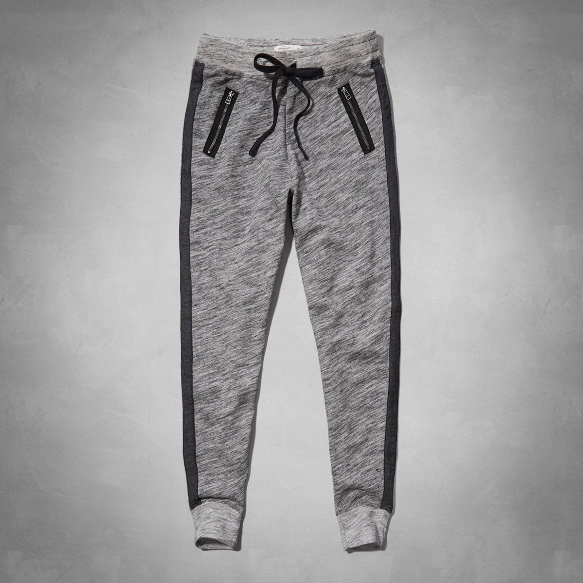 5a65793ba7099 calças de moletom femininas com bolsos em ziper