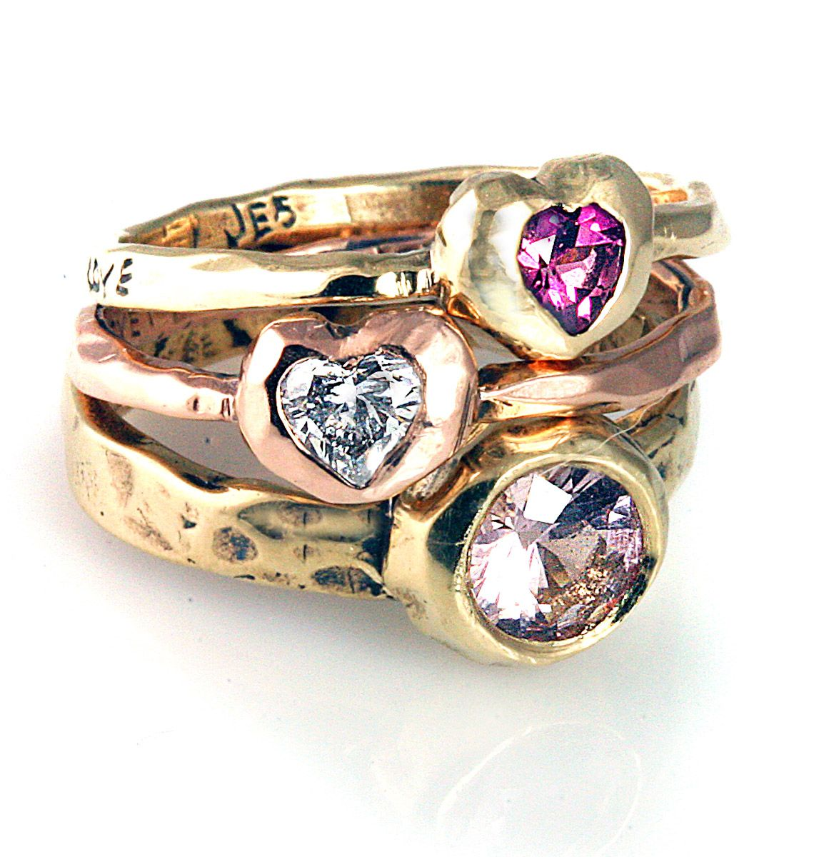 gold product of vanilla chocolate image levian rings levianr strawberry quartz ring diamond