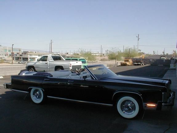 Pimped Out Old School Cars 1978 Lincoln Town Car Lake Havasu