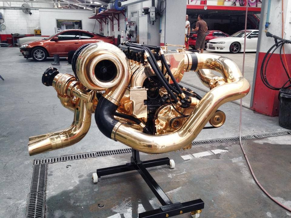 The awesome / amazing/ badass / automotive engine bay