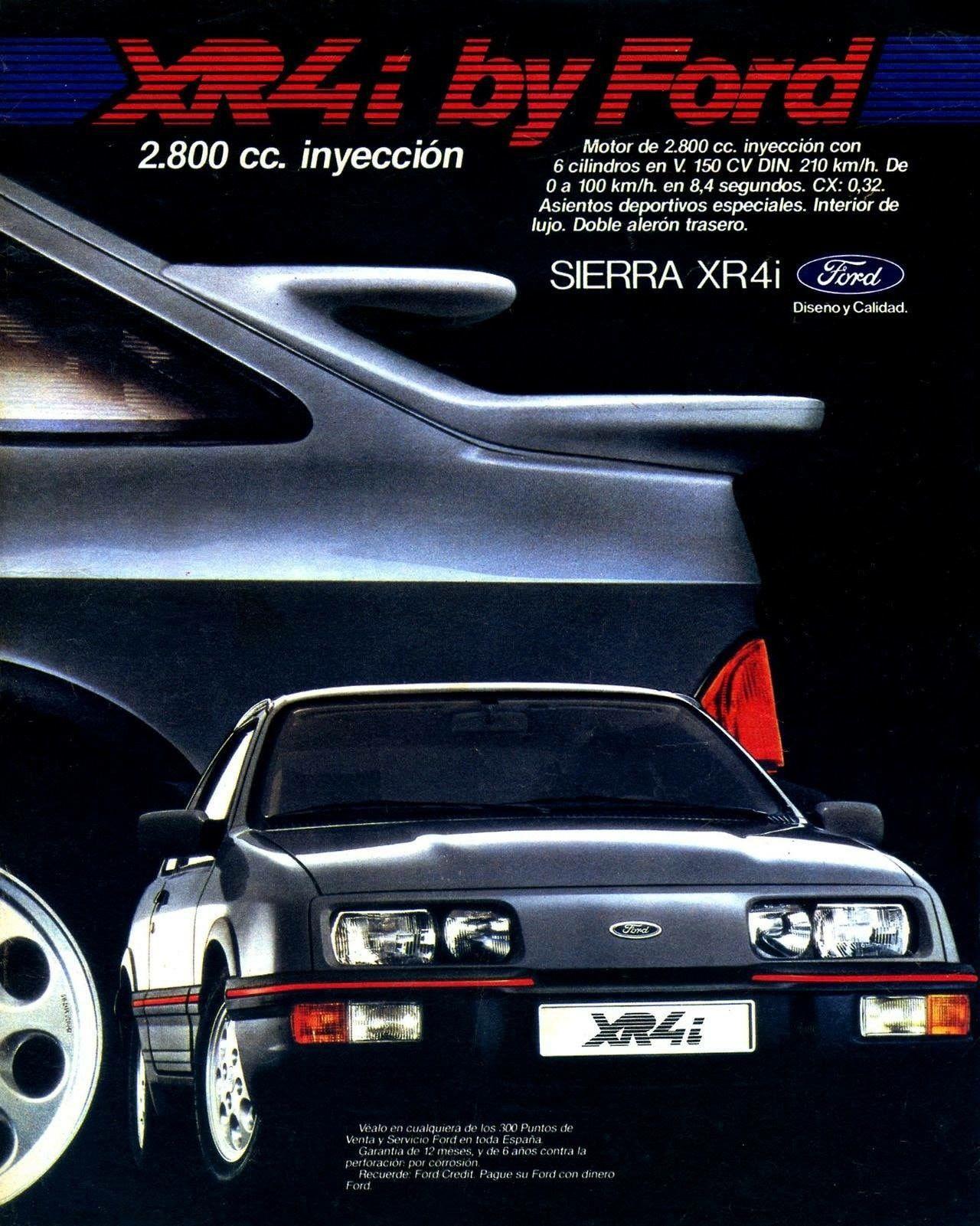 Ford Sierra Xr4 Coches Clasicos Anuncios De Coches Autos