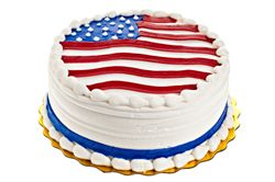 American Cake Jpg 250 166 Pixels With Images Patriotic Cake