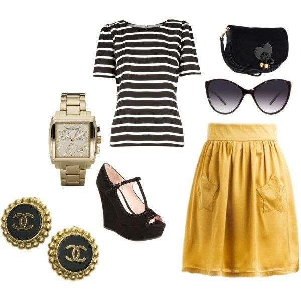 Great Polyvore Combinations With Skirts - fashionsy.com