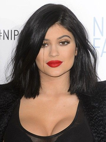 kylie jenner long bob love this style but short hair doesn\u0027t