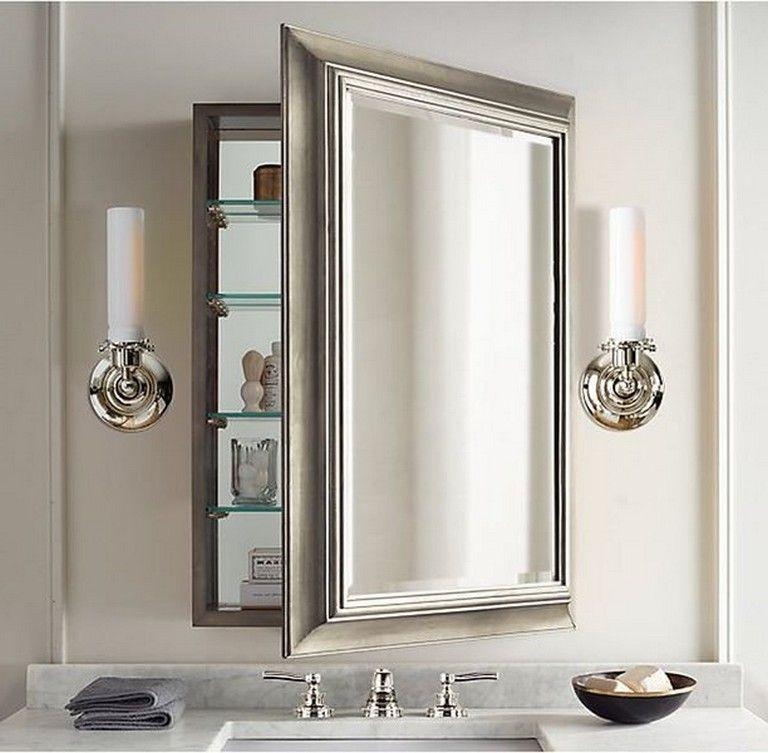 40++ Bathroom medicine cabinet with mirror recessed ideas