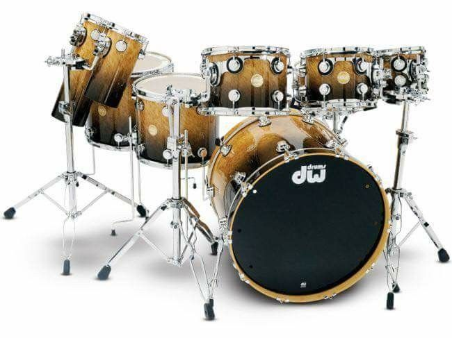 Pin by Terry Nugent on DW Drums   Dw drums, Drums, Drummer
