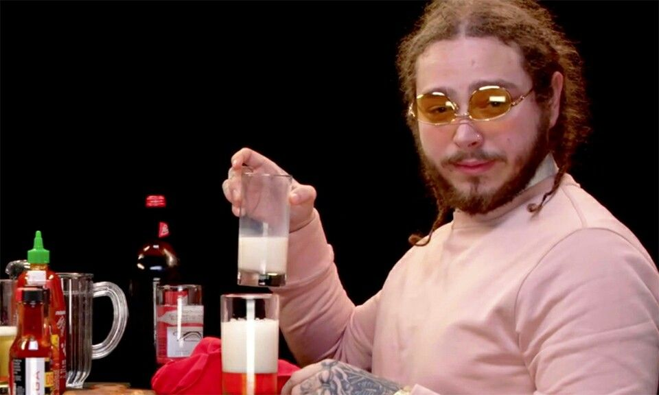 Post Malone is the funniest person Post malone lyrics