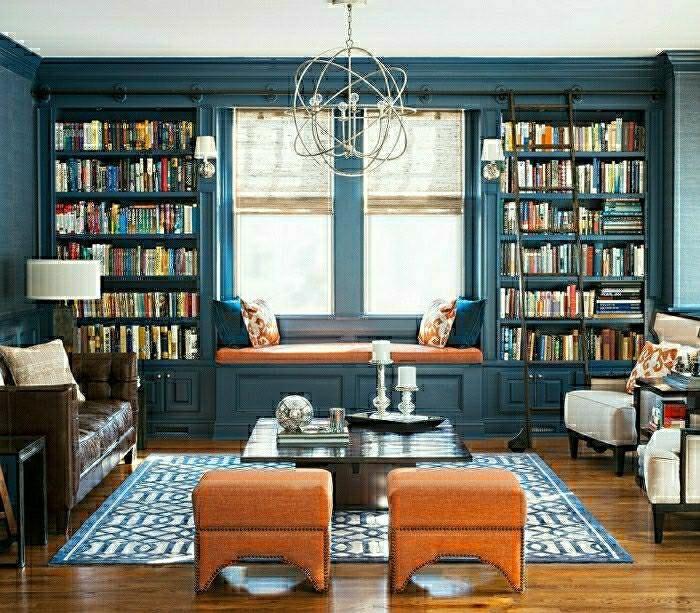 Idée rangements et déco salon contemporain | For the Home ...