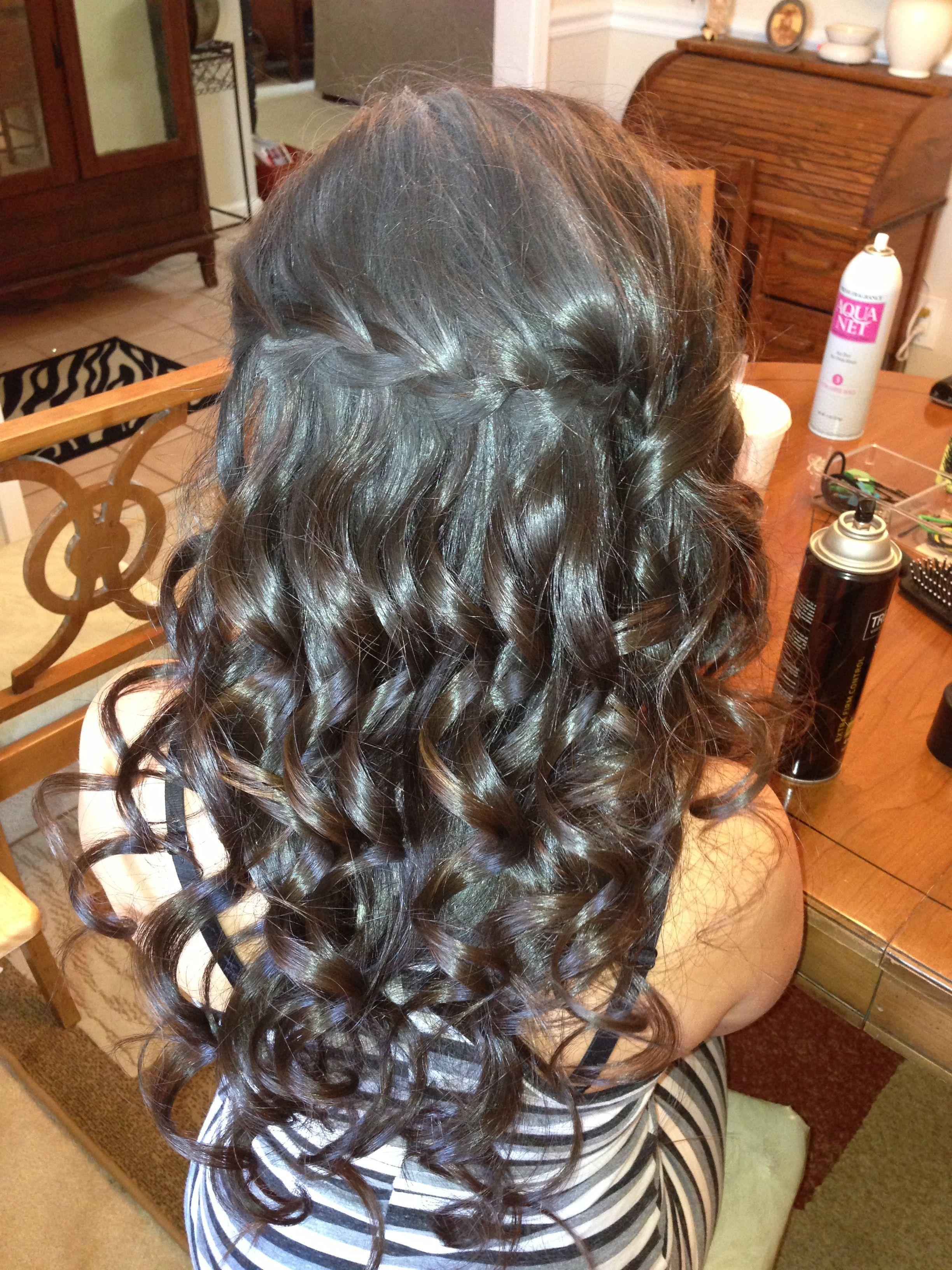 Women hairstyles plus size dresses doughnut bun hairstyle