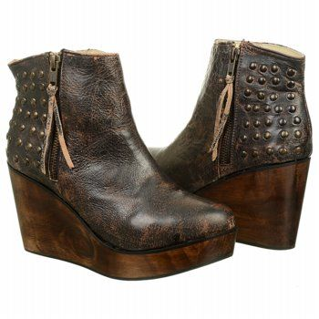 Bed Stu Womens Black Boots Ghent Lux