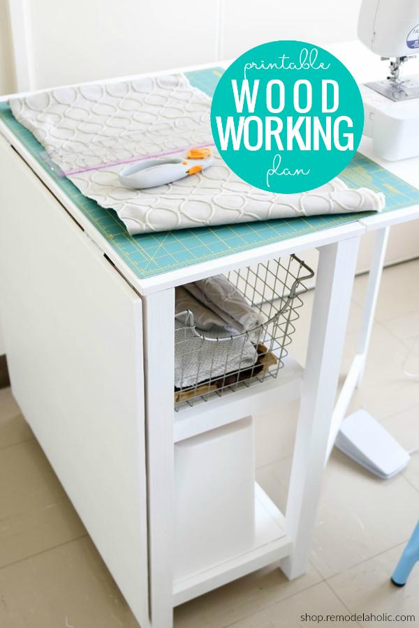 Diy Folding Craft Table Foldable Desk Woodworking Plans Woodworking Desk Plans Craft Table Diy Furniture Plans