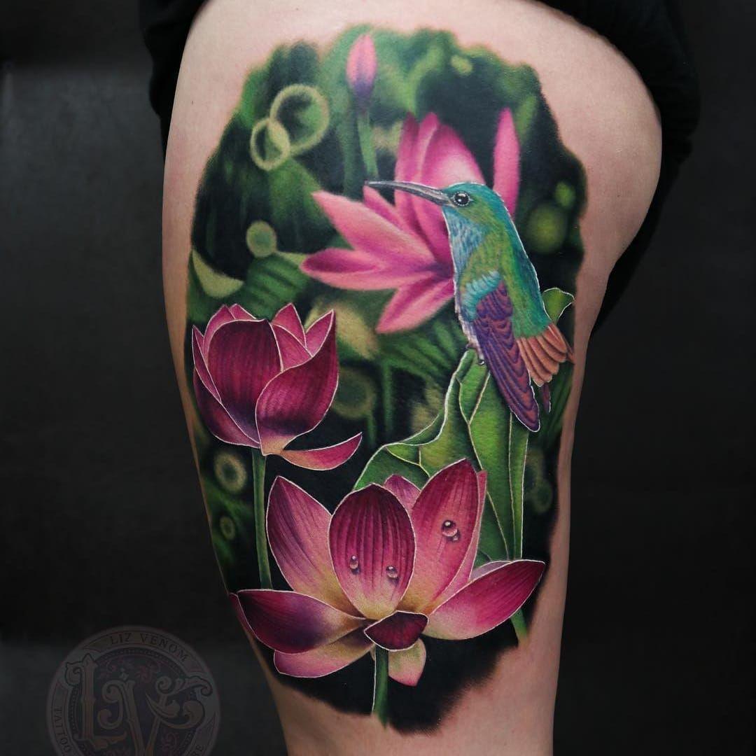 Tattoo By Liz Venom Lizvenom Tattoodoambassador Color Realism Realistic Photorealism Hyper In 2020 Delicate Flower Tattoo Simple Bird Tattoo Vintage Bird Tattoo