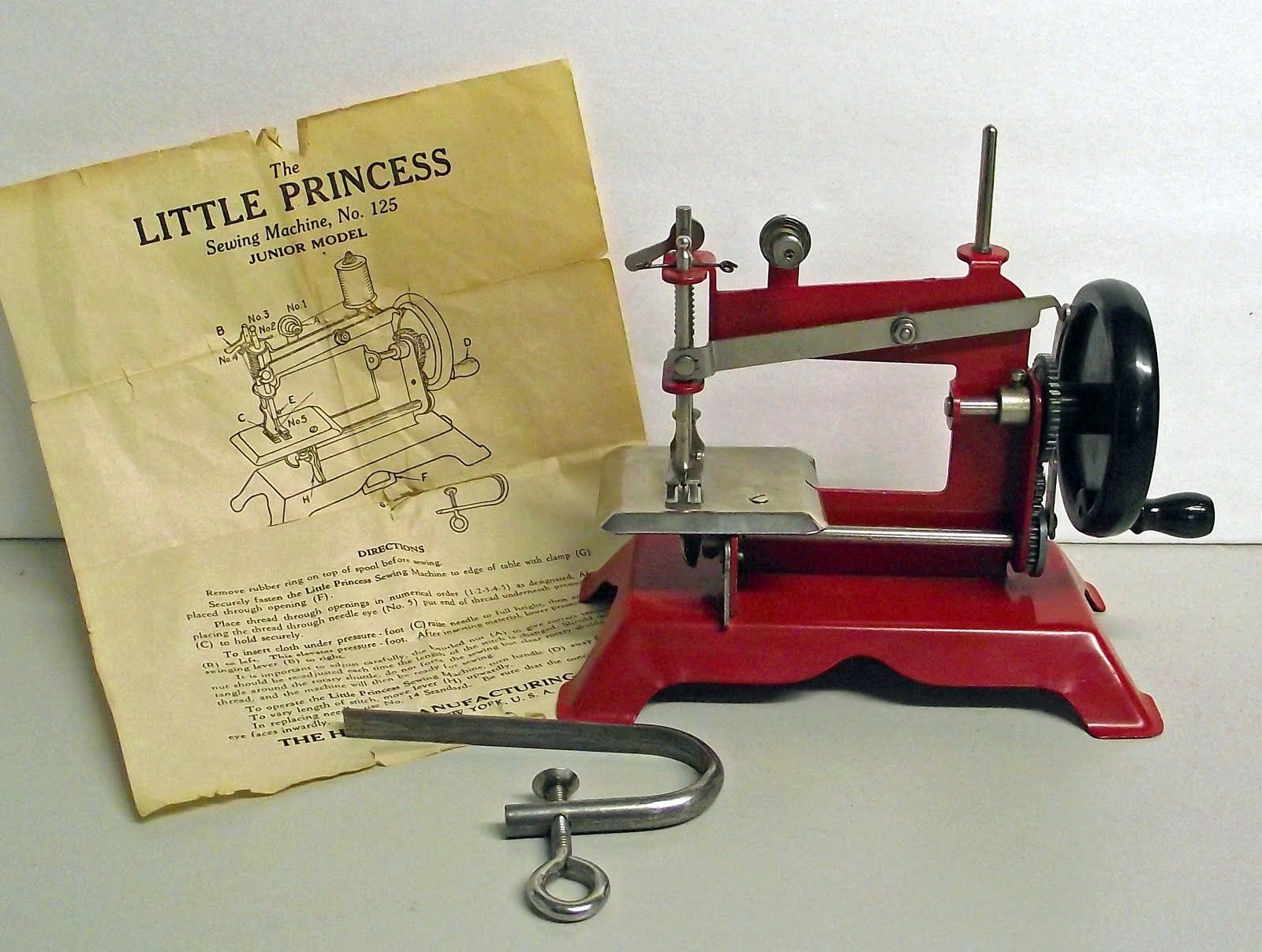 Sewing Machine Named Little Princess I Always Cry When Watch That Necchi Bu Threading Diagram Movie With Shirley Templelooove The Machines Or Just