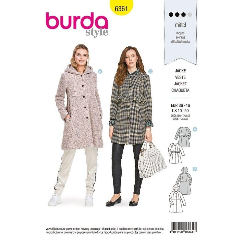Burda Sewing Pattern 6361 | Sewing | Patterns | Minerva