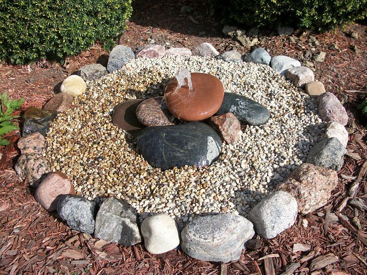 Bubbling Rock Water Feature Water Features Outdoor Water Features Water Features In The Garden