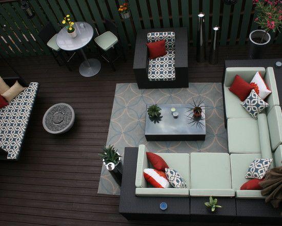 ديكور تصاميم استراحات Deck Furniture Layout Patio Furniture Layout Patio Decor