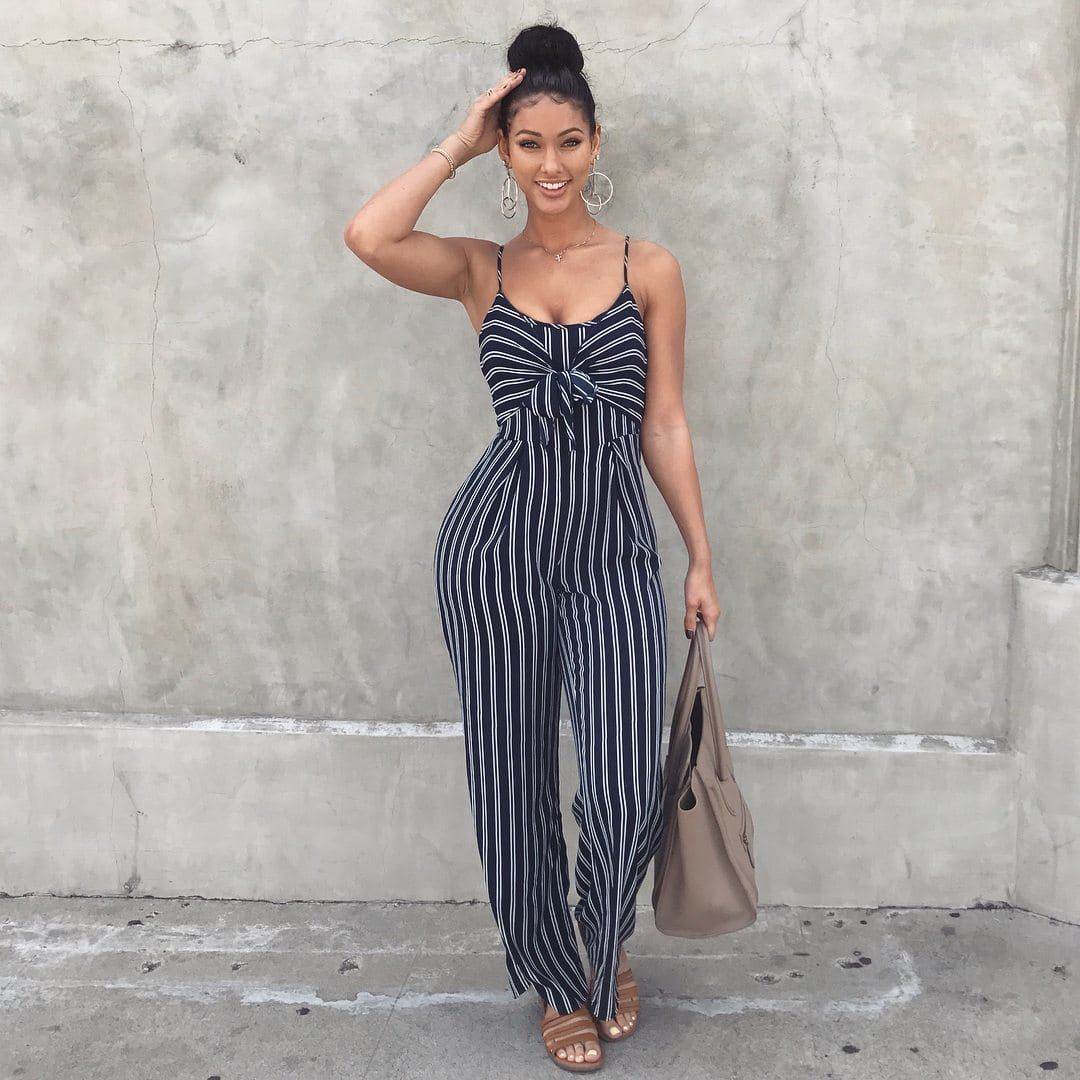 788d49491a1 Just Living Jumpsuit from Fashion Nova