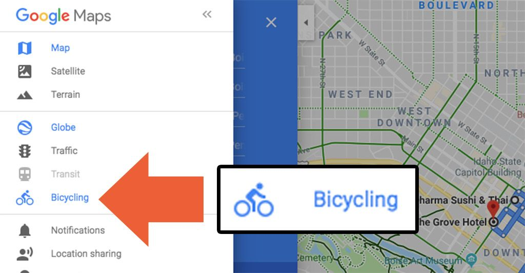 How to Create a Bicycling Route with Google Maps Route