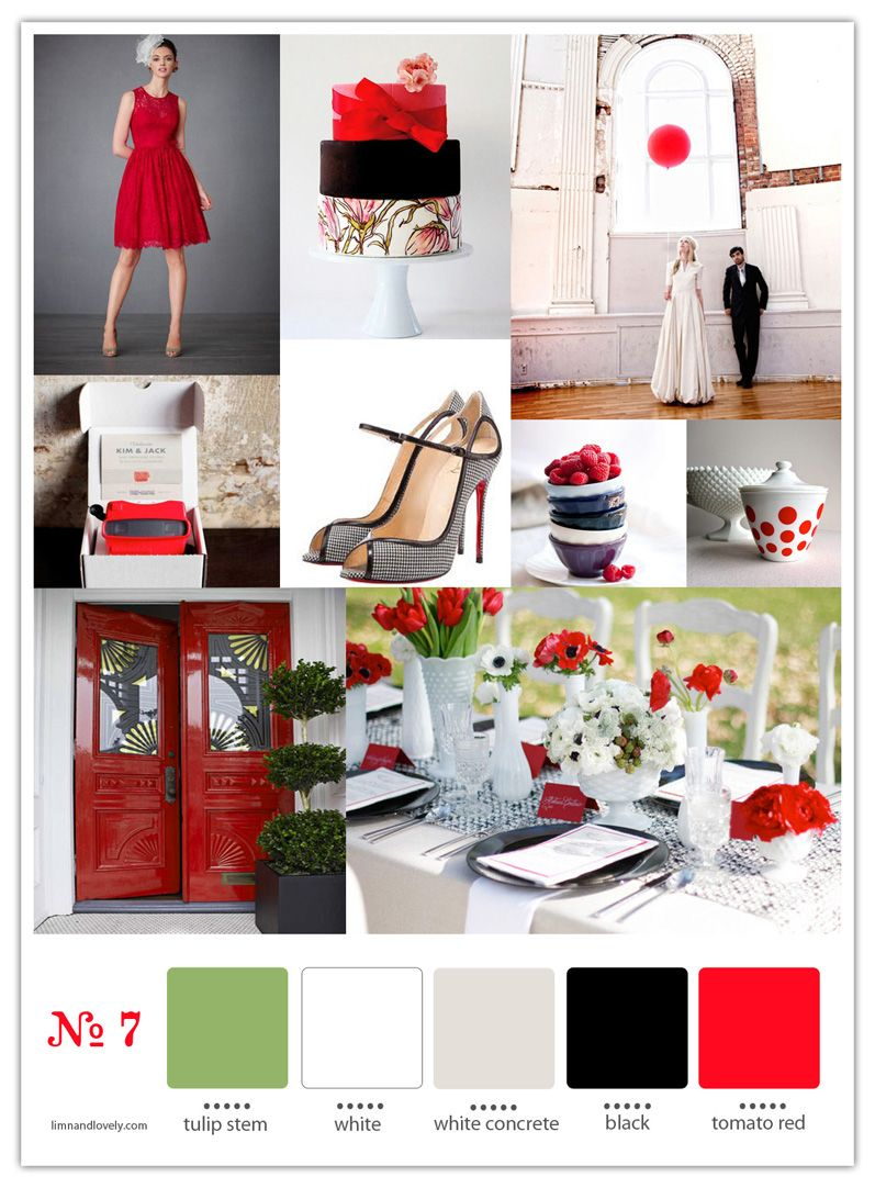 Red and black wedding decor  black and white wedding red and white wedding red and black